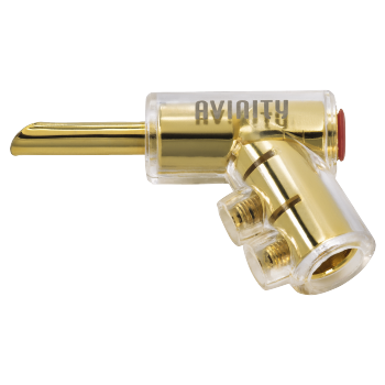 "abb2 Image 2 - Avinity, ""BC-116"" Banana Plug, gold-plated, set of 4 with Allen Key"