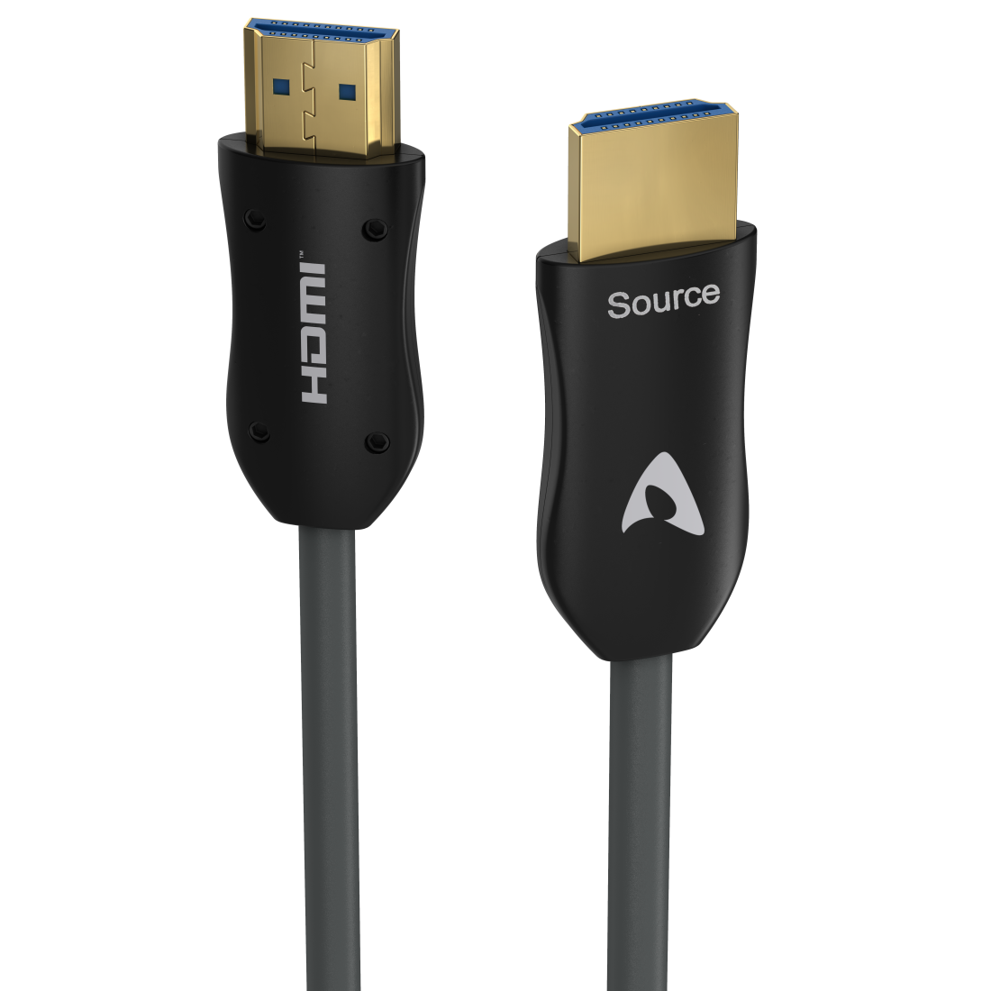 abx High-Res Image - Avinity, Optical, Active HDMI™ Cable, ultra-thin, plug-plug, gold-plated, 50m