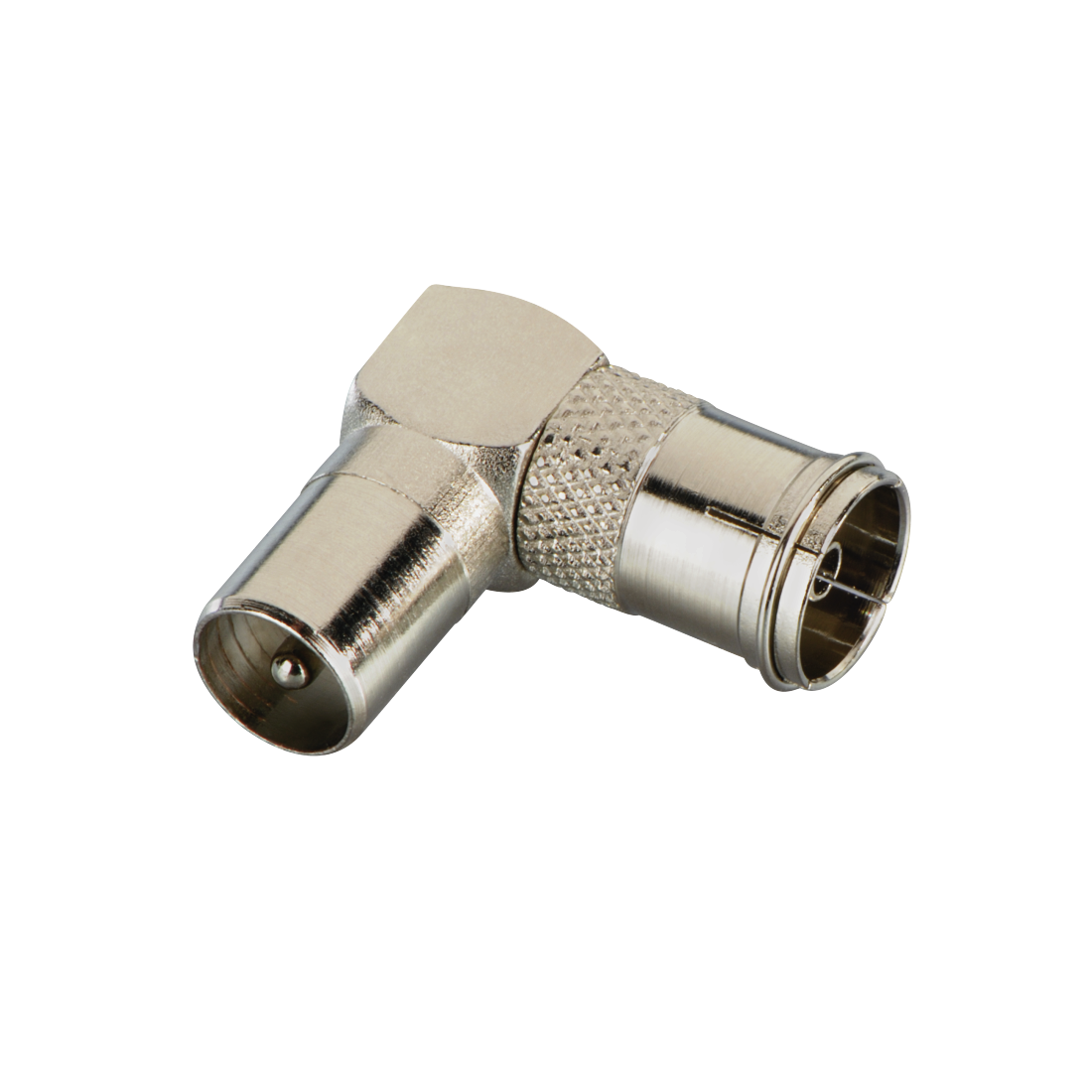 abx High-Res Image - Avinity, Antenna Angle Adapter, 90°, coax plug - coax socket