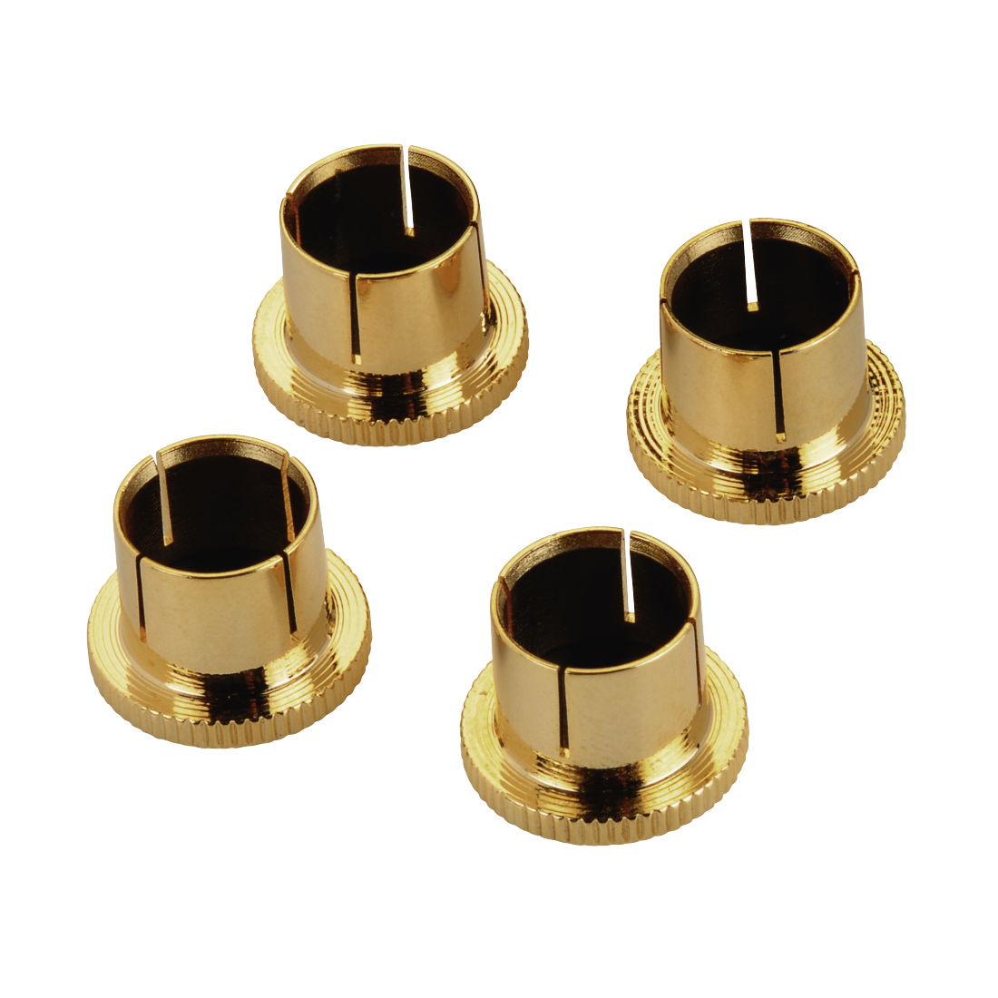 abx2 High-Res Image 2 - Avinity, RCA Protective Caps, gold-plated, set of 4