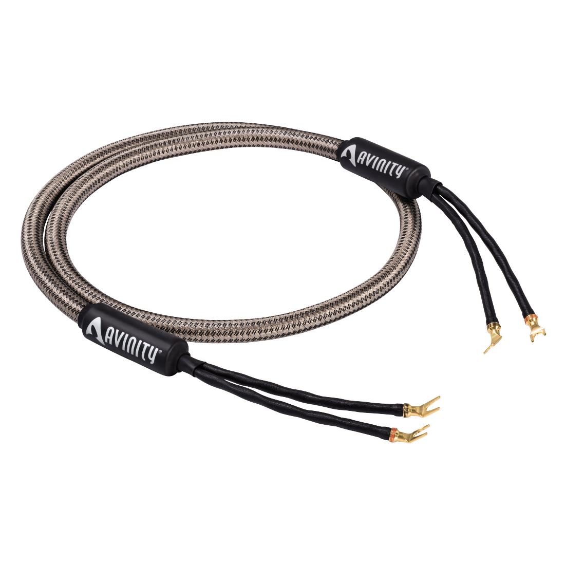 abx High-Res Image - Avinity, LR-269 Loudspeaker Cable, prefabricated 2 m, 2 x 6.00 mm²
