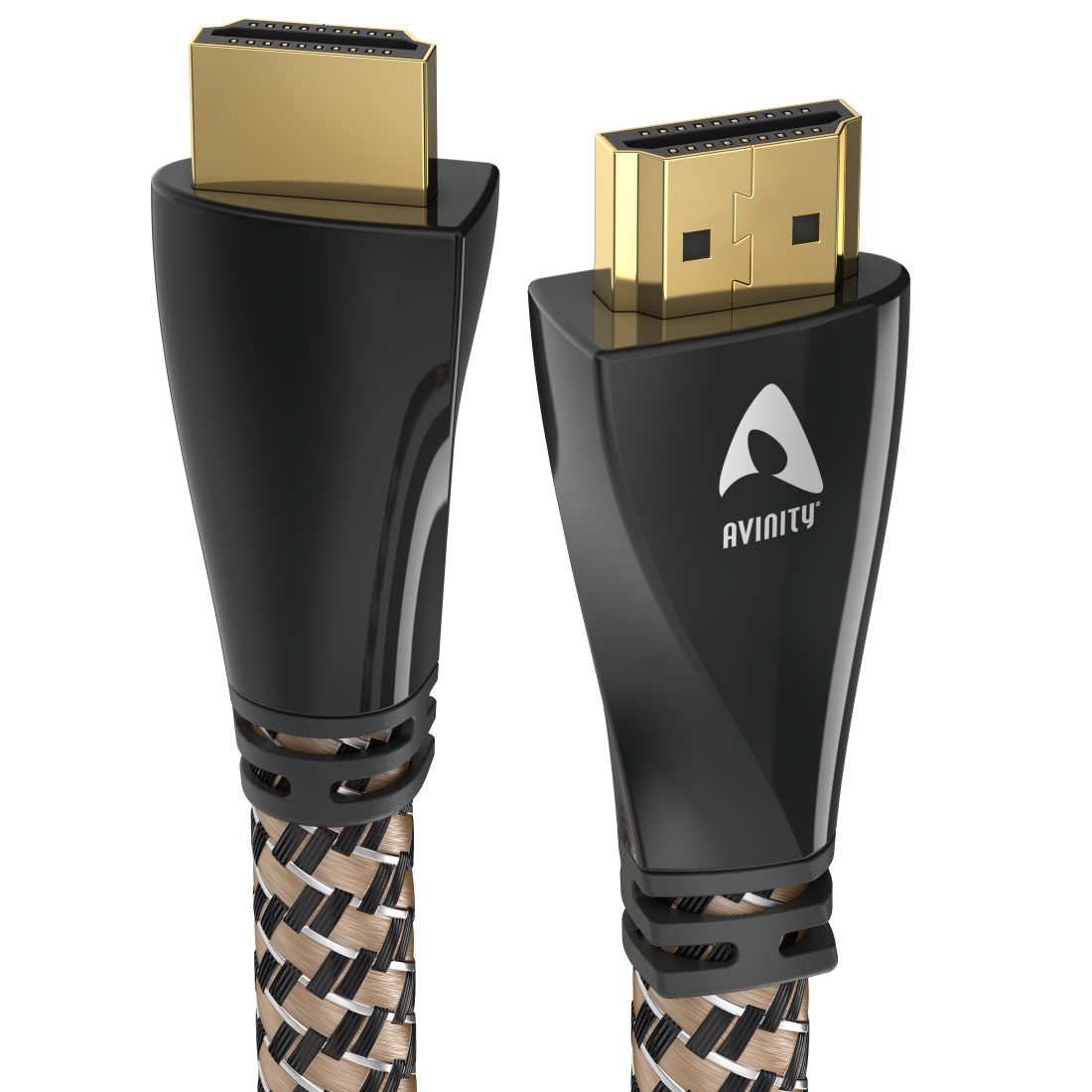 abx High-Res Image - Avinity, High Speed HDMI™ Cable, Plug-Plug, Fabric, gold-plated, Ethernet, 2 m