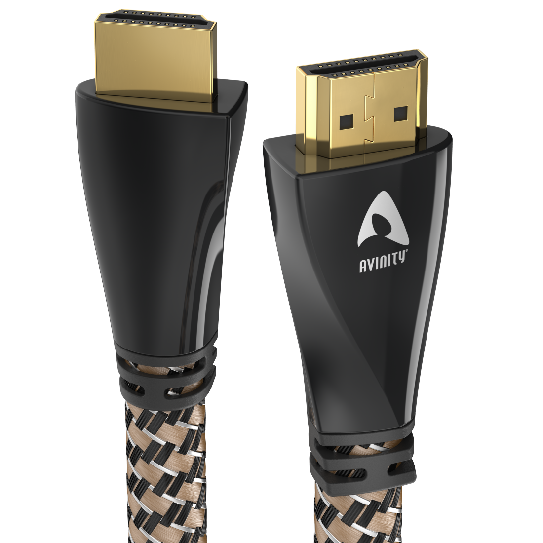 abx High-Res Image - Avinity, High Speed HDMI™ Cable, Plug-Plug, Fabric, gold-plated, Ethernet, 5 m