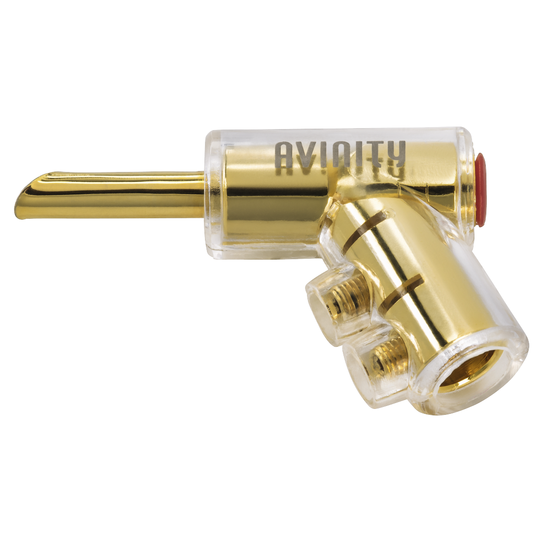 "abx2 High-Res Image 2 - Avinity, ""BC-116"" Banana Plug, gold-plated, set of 4 with Allen Key"