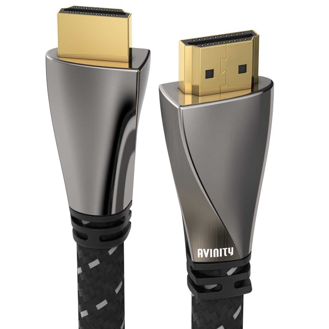 abx High-Res Image - Avinity, High Speed HDMI™ Cable, Pl. - Pl., Fabric, Filter, gold-plated,Ethernet,7 m