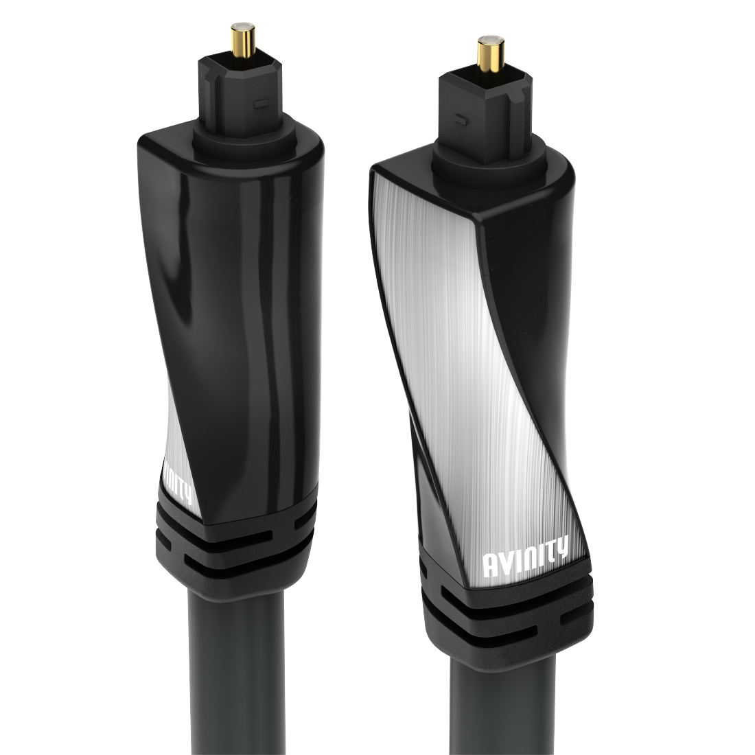 abx High-Res Image - Avinity, Audio Optical Fibre Cable, ODT plug (Toslink), polished, 3 m