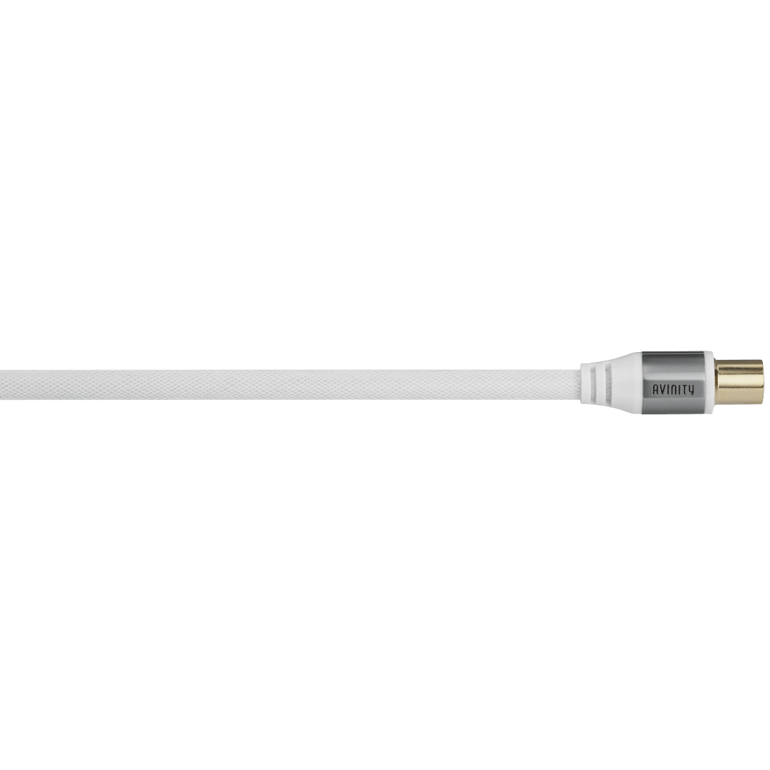 abx High-Res Image - Avinity, Antenna Cable, coax plug - coax socket, fabric, gold-plated, 110 dB, 2.0 m